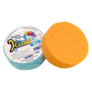 """La spugna bagno """"Ilenia"""", grazie alla sua morbidezza e delicatezza, è ideale per tutti i tipi di pelle."""